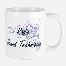 Radio Sound Technician Artistic Job Design wi Mugs