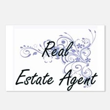 Real Estate Agent Artisti Postcards (Package of 8)