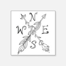 Gypsy Arrow Compass Sticker