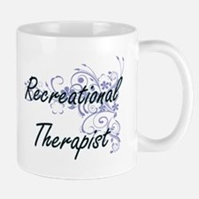 Recreational Therapist Artistic Job Design wi Mugs
