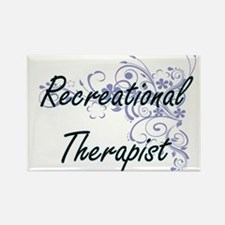 Recreational Therapist Artistic Job Design Magnets