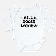 Type Long Sleeve Infant Bodysuit