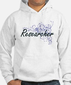 Researcher Artistic Job Design w Hoodie