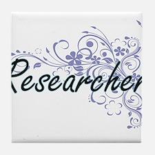 Researcher Artistic Job Design with F Tile Coaster