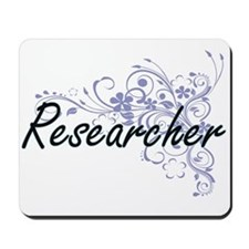Researcher Artistic Job Design with Flow Mousepad