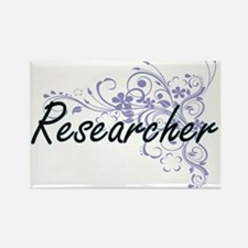Researcher Artistic Job Design with Flower Magnets