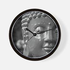 BUDDHA IN GREY Wall Clock