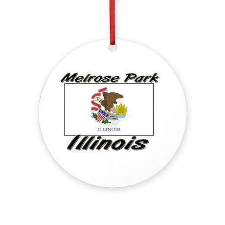 Melrose Park Illinois Ornament (Round)
