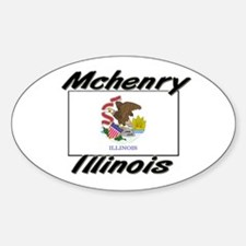 Mchenry Illinois Oval Decal