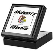 Mchenry Illinois Keepsake Box