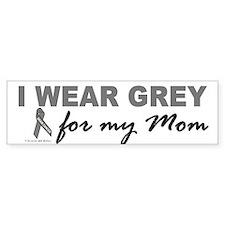 I Wear Grey For My Mom 2 (BC) Bumper Bumper Sticker