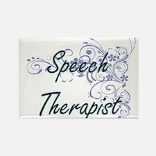 Speech Therapist Artistic Job Design with Magnets