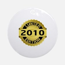 Limited Edition 2010 Round Ornament