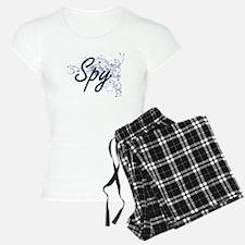 Spy Artistic Job Design wit Pajamas