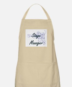 Stage Manager Artistic Job Design with Flowe Apron