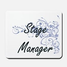 Stage Manager Artistic Job Design with F Mousepad