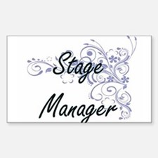 Stage Manager Artistic Job Design with Flo Decal