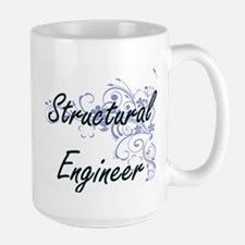 Structural Engineer Artistic Job Design with Mugs