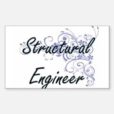 Structural Engineer Artistic Job Design wi Decal