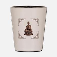 BUDDHA STATUE Shot Glass