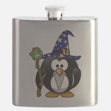 Cute Tux penguin Flask