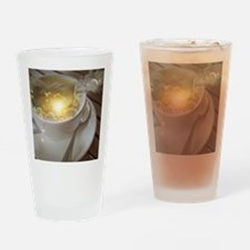 Cute Yellow cups Drinking Glass