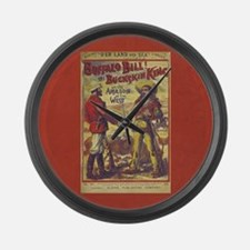 Buffalo Bill Large Wall Clock