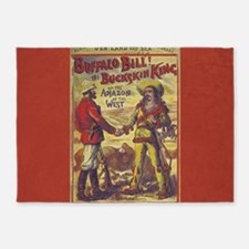 Buffalo Bill 5'x7'Area Rug