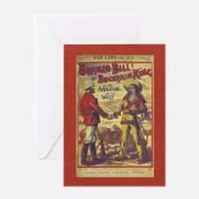 Buffalo Bill Greeting Cards