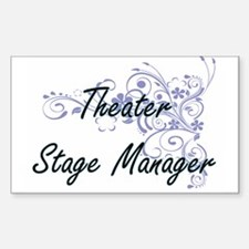 Theater Stage Manager Artistic Job Design Decal