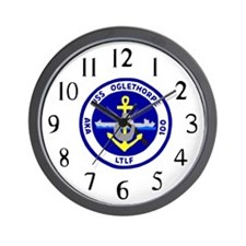 USS Oglethorpe (AKA 100) Wall Clock