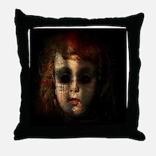 Funny Horror Throw Pillow