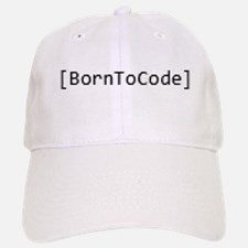 Born To Code Baseball Baseball Cap