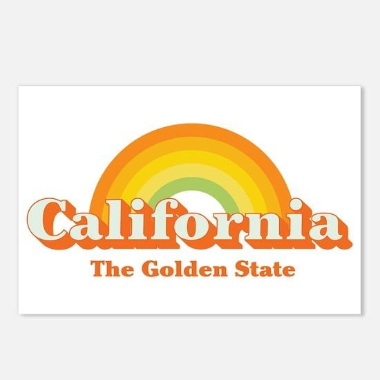 California vintage Postcards (Package of 8)