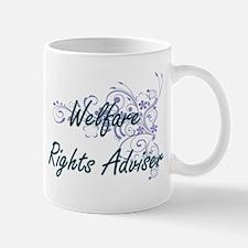 Welfare Rights Adviser Artistic Job Design wi Mugs