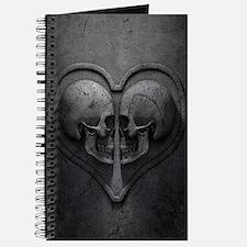 Gothic Skull Heart Journal