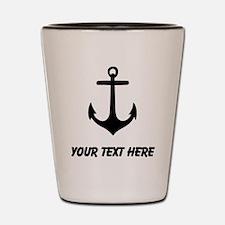 Ship Anchor Shot Glass