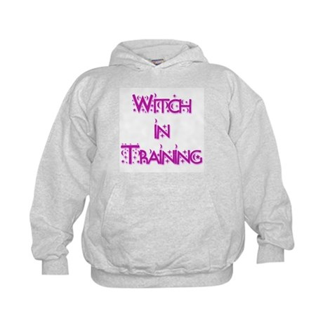 Witch in Training 1 Kids Hoodie
