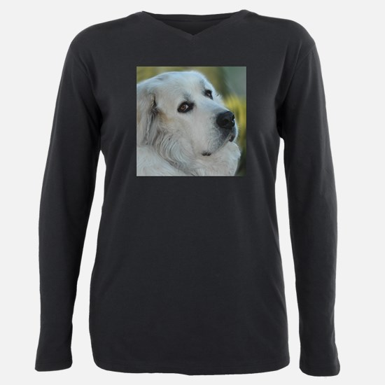 great pyrenees Plus Size Long Sleeve Tee