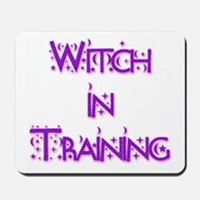 Witch in Training 2 Mousepad