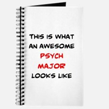 awesome psychology major Journal