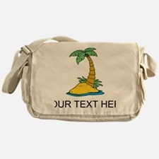 Secluded Island Messenger Bag