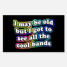 All The Cool Bands Bumper Stickers