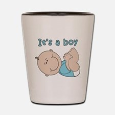 Cute Its a boy Shot Glass