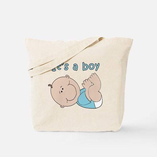 Cute Its a boy Tote Bag