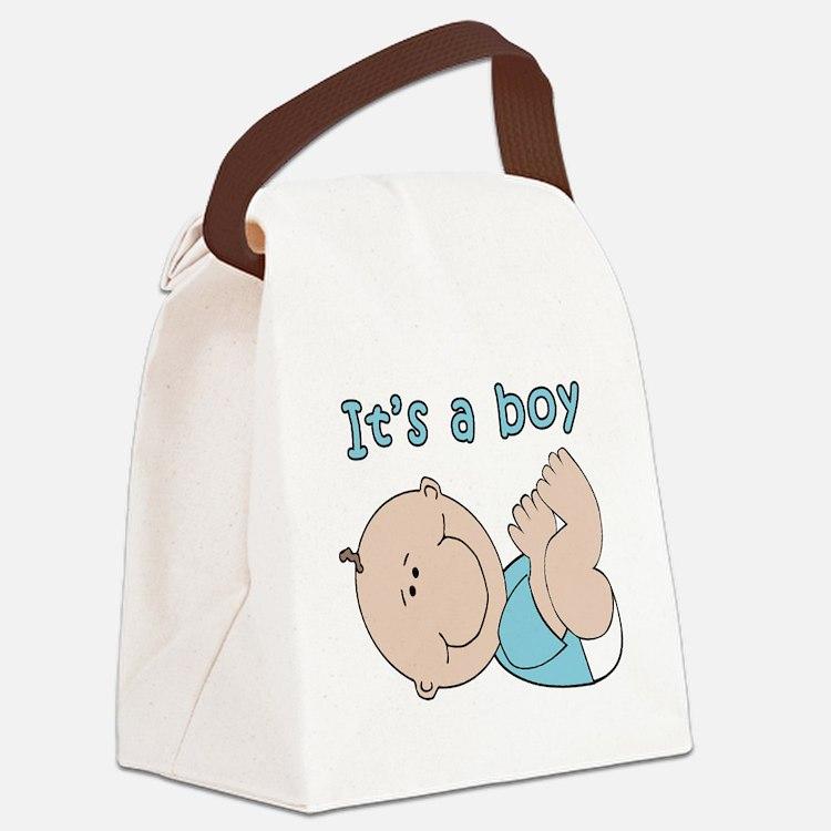 Cute Baby boy Canvas Lunch Bag