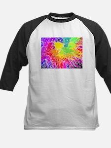 Colourful paint splatter Baseball Jersey