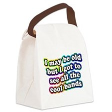 All The Cool Bands Canvas Lunch Bag