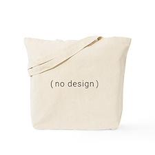 no design (black) Tote Bag
