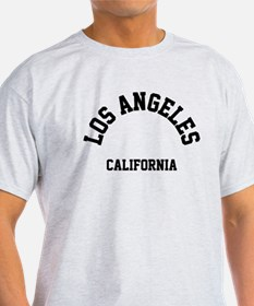 Los Angeles California (Black) T-Shirt